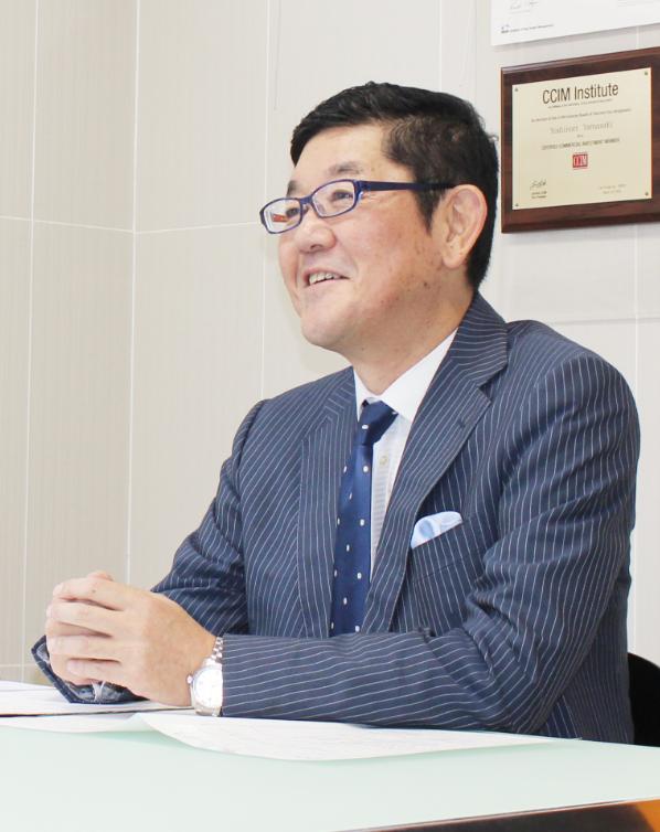 株式会社ワイズプランニング 代表取締役社長 山﨑 孝徳